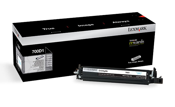Lexmark 700D1 Black Developer Unit Genuine 70C0D10