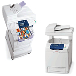 Xerox Multifunction Printers including the laser and solid ink.