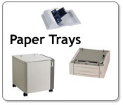 Konica Minolta Feeders and Paper Trays